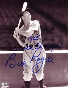 Billy Rogell autographed Detroit Tigers 8x10 photo inscribed 1935 World Champs