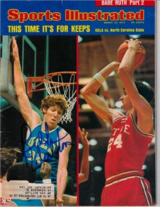 Bill Walton autographed UCLA Bruins 1974 Sports Illustrated