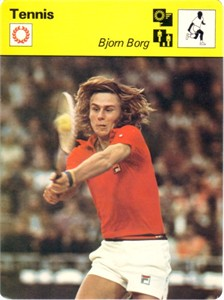Bjorn Borg 1979 Sportscaster Rookie Card
