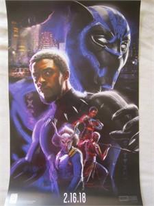 Black Panther 2017 Comic-Con exclusive Marvel 13x20 mini movie poster (Chadwick Boseman)