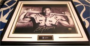 Bo Jackson autographed Bo Knows 16x20 poster size Nike baseball & football photo custom matted & framed (TriStar)
