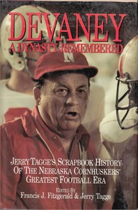 Bob Devaney A Dynasty Remembered Nebraska football hardcover book