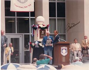 Bobby Doerr autographed Baseball Hall of Fame Induction 8x10 photo