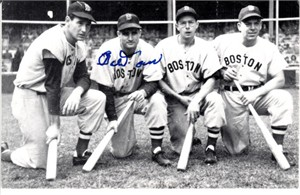 Bobby Doerr autographed Boston Red Sox 1985 TCMA postcard