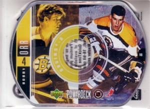 Bobby Orr 1999-2000 Upper Deck PowerDeck CD ROM Boston Bruins card