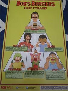 Bob's Burgers 2014 Comic-Con 11x17 mini promo poster