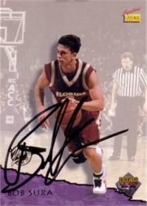 Bob Sura autographed Florida State 1995 Signature Rookies card