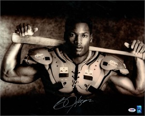Bo Jackson autographed Bo Knows 16x20 poster size Nike baseball & football photo
