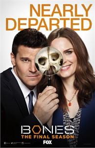 Bones 2016 Comic-Con 11x17 Fox promo poster David Boreanaz Emily Deschanel