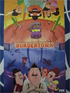 Bordertown 2015 San Diego Comic-Con mini 11x17 inch FOX promo poster MINT