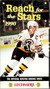 Boston Bruins 1990 Reach for the Stars VHS video (Ray Bourque)