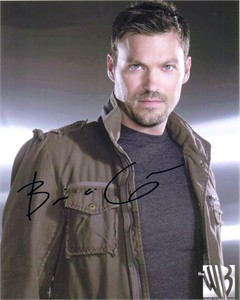 Brian Austin Green autographed Terminator Sarah Connor Chronicles 8x10 photo
