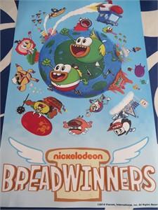 Breadwinners 2014 Comic-Con Nickelodeon promo poster