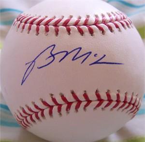 Brian McCann autographed MLB baseball