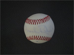 Brooks Robinson autographed Rawlings Official League baseball (faded)