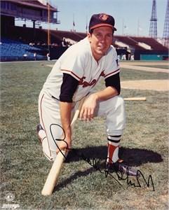 Brooks Robinson autographed Baltimore Orioles 8x10 Memorial Stadium photo