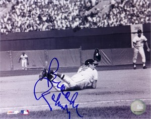 Brooks Robinson autographed Baltimore Orioles diving catch 8x10 photo