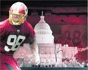 Brian Orakpo autographed Washington Redskins 8x10 photo