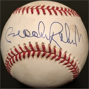Brooks Robinson autographed American League baseball