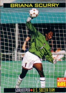 Briana Scurry 1999 U.S. Women's National Team Sports Illustrated for Kids soccer card