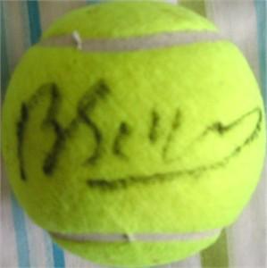Brenda Schultz autographed tennis ball