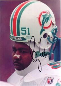 Bryan Cox autographed Miami Dolphins 5x7 inch photo (JSA)