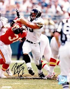 Bryce Paup autographed Jacksonville Jaguars 8x10 photo