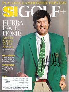 Bubba Watson autographed 2014 Masters Sports Illustrated Golf Plus magazine