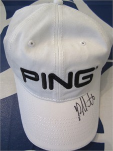 Bubba Watson autographed PING golf cap or hat