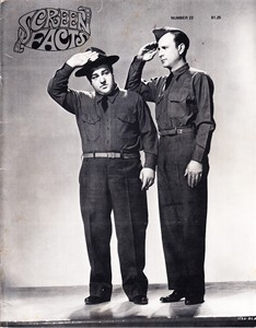 Bud Abbott & Lou Costello 1970 Screen Facts magazine issue 22