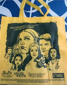 Buffy Angel Serenity 2016 Comic-Con Dark Horse promo tote bag