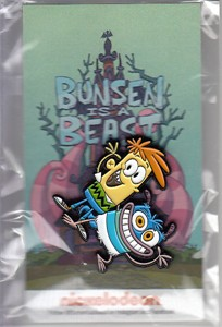 Bunsen is a Beast 2017 Comic-Con Nickelodeon promo pin