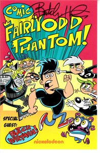 Butch Hartman autographed Fairly OddParents 2017 Comic-Con mini comic book