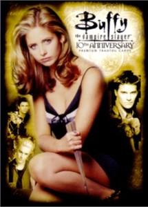 Buffy the Vampire Slayer 10th Anniversary 2007 Comic-Con promo card B10-SD2007