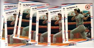 Cal Ripken Baltimore Orioles 1988 Fleer cards (lot of 12)