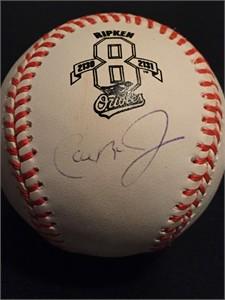 Cal Ripken autographed Consecutive Games 2130/2131 Rawlings MLB baseball