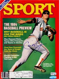 Cal Ripken autographed Baltimore Orioles 1984 Sport magazine
