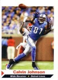 Calvin Johnson Detroit Lions 2011 Sports Illustrated for Kids card