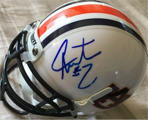 Cam Newton autographed Auburn Tigers mini helmet