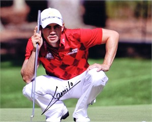 Camilo Villegas autographed 8x10 golf photo