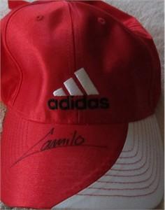 Camilo Villegas autographed Adidas golf cap or hat