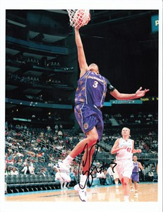 Candace Parker autographed WNBA Los Angeles Sparks 8x10 photo