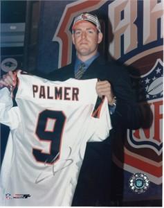 Carson Palmer autographed Cincinnati Bengals NFL Draft 8x10 photo