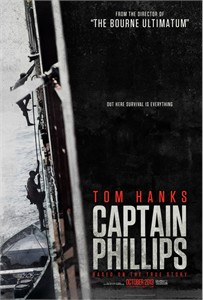 Captain Phillips mini 11x17 inch movie poster (Tom Hanks)