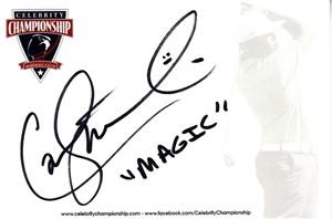 Carl Michael autographed 4x6 signature card