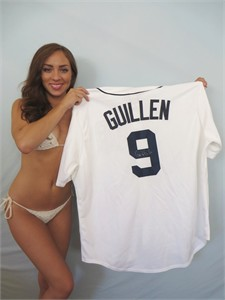 Carlos Guillen autographed Detroit Tigers authentic game model jersey