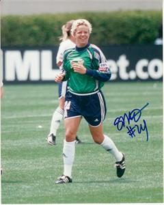 Carly Smolak autographed WUSA San Diego Spirit 8x10 photo