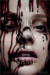 Carrie 2013 mini teaser movie poster (Chloe Grace Moretz)