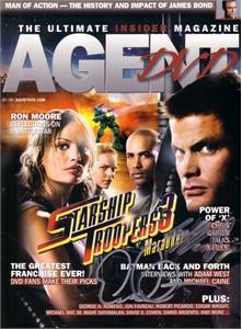 Casper Van Dien autographed Starship Troopers 3 2008 Agent DVD magazine