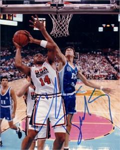 Charles Barkley autographed 1992 USA Dream Team 8x10 photo